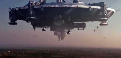 District 9 - alien spaceship