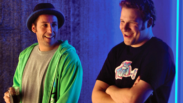 Adam Sandler and Seth Rogen laugh it up in Funny People