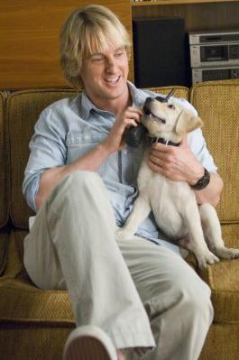 Owen Wilson and Marley - Markey & Me