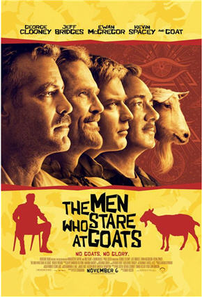 Men Who Stare at Goats - Movie Poster