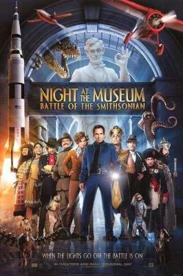 Night at the Museum: Battle for the Smithsonian - movie poster