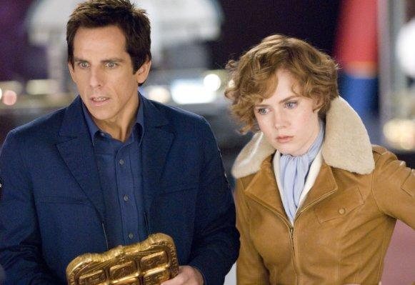 Amy Adams (Amelia Earhart) & Ben Stiller - Night at the Museum: Battle for the Smithsonian
