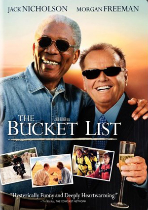The Bucket List poster - Morgan Freeman & Jack Nicholson