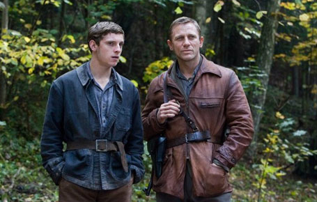 Jamie Bell and Daniel Craig - Defiance