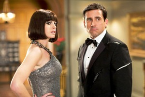 Anne Hathaway (Agent 99) Steve Carrell (Maxwell Smart)