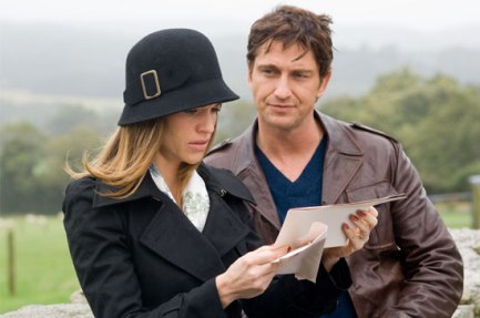 Hilary Swank, Gerard Butler from P.S. I Love You