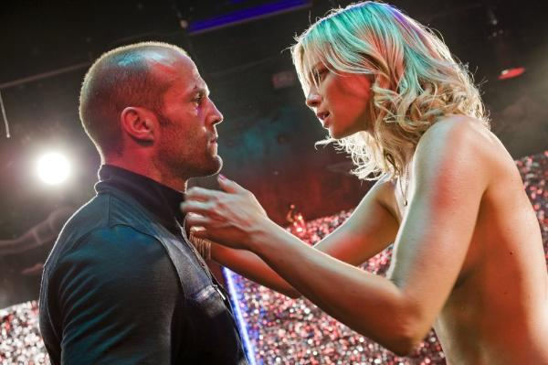 Jason Statham & semi naked Amy Smart - Crank 2