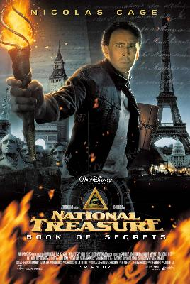 National Treasure Book of Secrets - movie poster