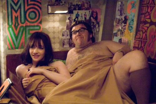 Talulah Riley in bed with Nick Frost in Porate Radio