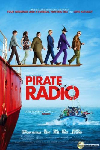 Pirate Radio - movie poster