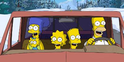 The Simpson's in Alaska
