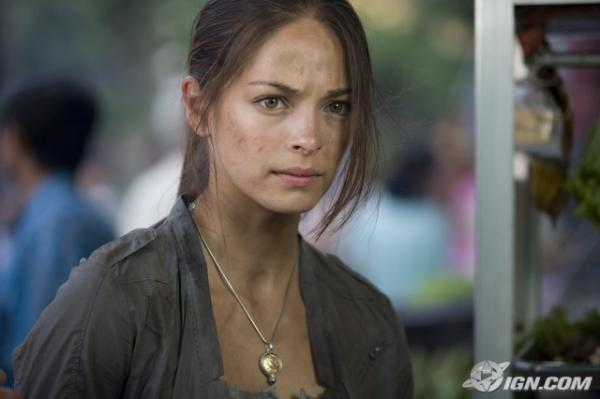 Kristin Kreuk is gorgeous even with a dirty face