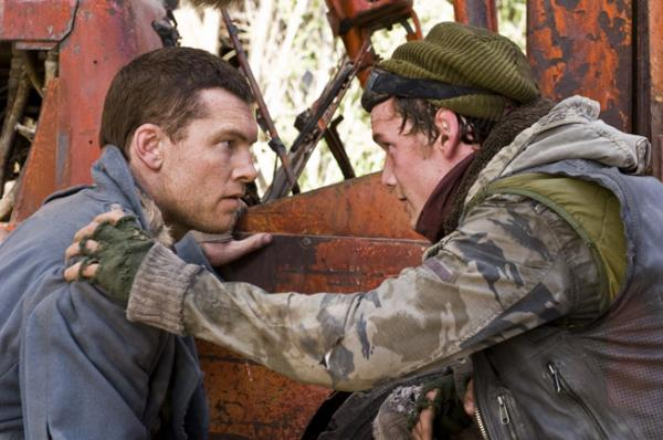 Anton Yelchin, Sam Worthington - Terminator Salvation