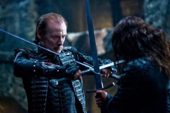 Bill Nighy and Michael Sheen battle it out in Underworld Rise of the Lycans