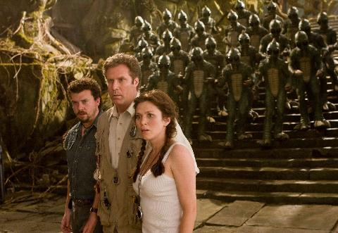 Will Ferrell, Anna Friel, Danny McBride, & an army of Sleestak - Land of the Lost