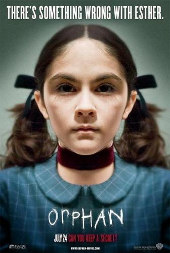 Orphan movei poster - Isabelle Fuhrman