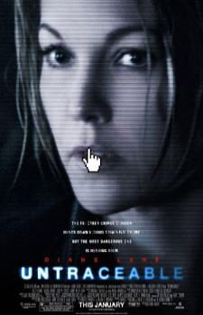 Untraceable - movie poster